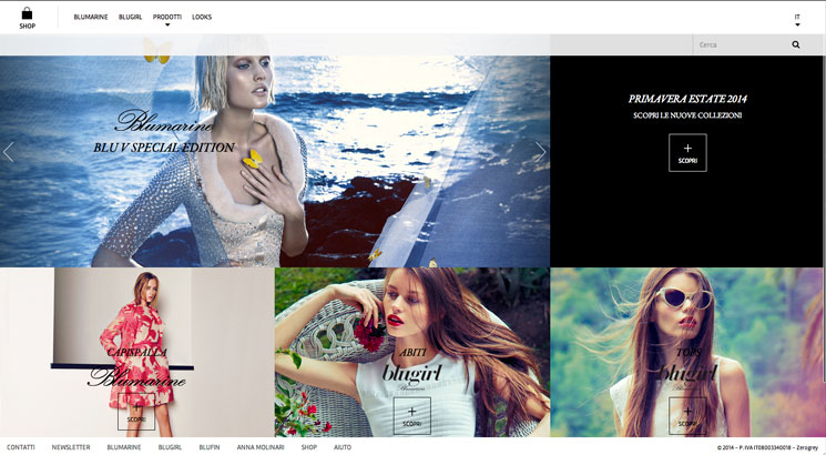 Blumarine and Blugirl: a new look for the e-store and websites