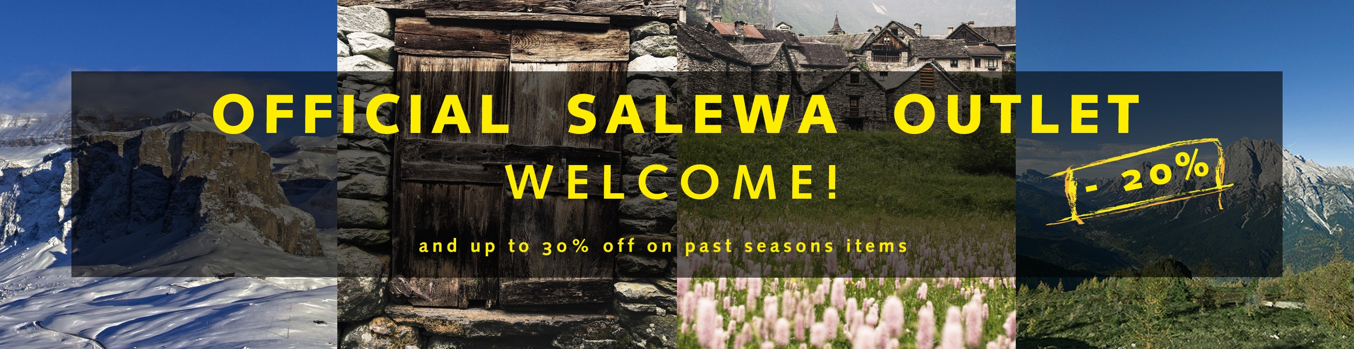 Official Salewa Outlet -20% on winter collection