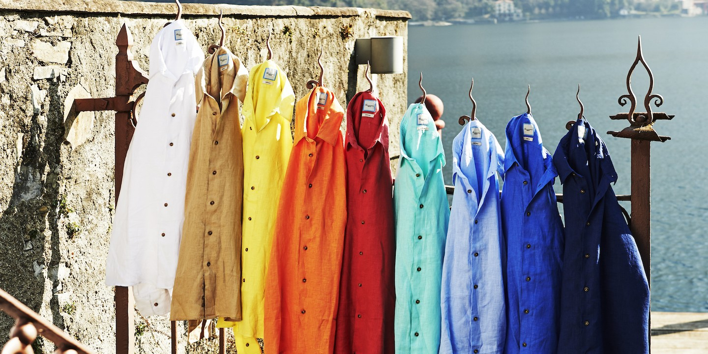 Linen Trendy Shirts A rainbow of colors