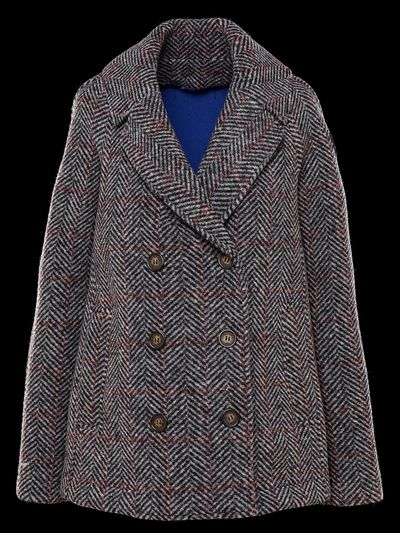 TECH WOOL DOUBLE-BREASTED JACKET