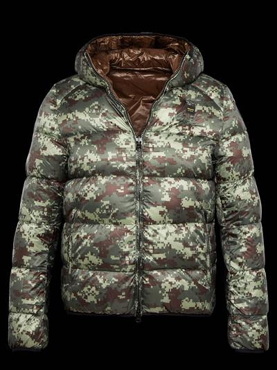 REVERSIBLE WINTER DOWN JACKET