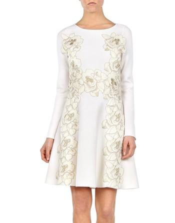 Macrame'-lace Dress.
