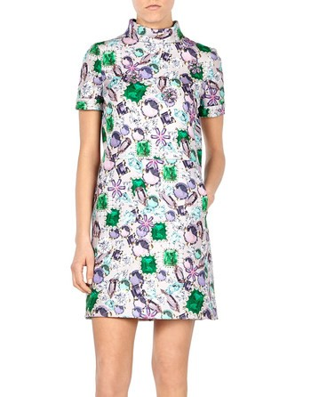Bijoux Printed Dress