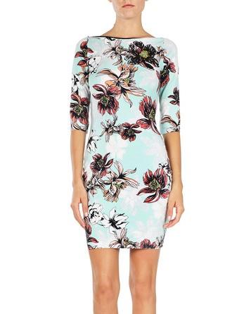Spandex' Printed Dress
