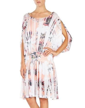 Floral-print Knit Dress