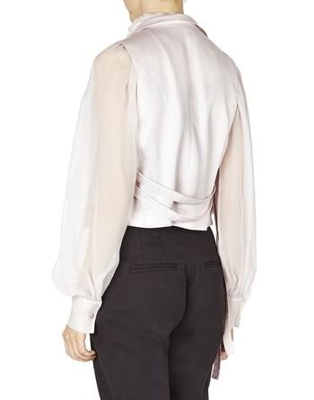 Silk Satin Cargo Vest