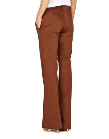 Flared Cotton Pants