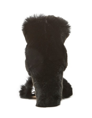 Rex Rabbit Fur Sandal