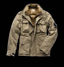 JACKET WITH DETACHABLE LINING