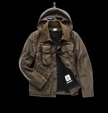 GOGGLE JACKET WITH DETACHABLE LINING